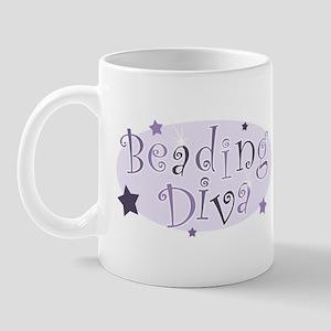 """""""Beading Diva"""" [purple] Mug"""
